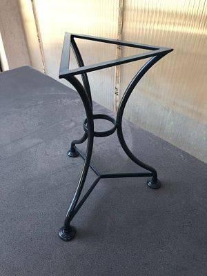 grossiste 21a66 b331d Piétement pour table basse ou haute en pierre de lave ...